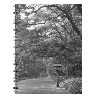 Asia, Japan, Tokyo, Grounds of Meiji Shrine, Note Books