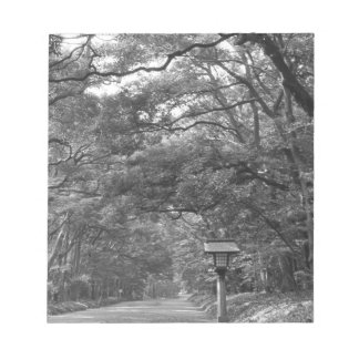 Asia, Japan, Tokyo, Grounds of Meiji Shrine, Notepad