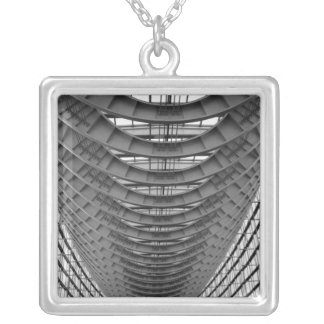 Asia, Japan, Tokyo. Interior, Tokyo 2 Silver Plated Necklace