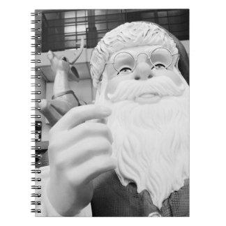 Asia, Japan, Tokyo. Santa Claus in Ikebukuro Notebook