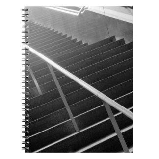 Asia, Japan, Tokyo. Stairs, Tokyo International 3 Notebooks