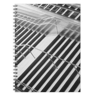 Asia, Japan, Tokyo. Stairs, Tokyo International Spiral Notebook