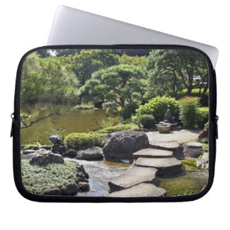 Asia, Japan, Tokyo. The Japanese Garden at the Laptop Sleeve