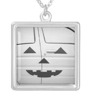 Asia, Japan, Tokyo. Toyota Will, Vi car painted Square Pendant Necklace