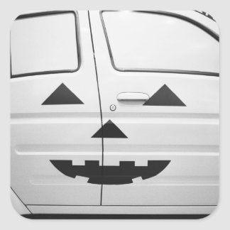 Asia, Japan, Tokyo. Toyota Will, Vi car painted Square Sticker
