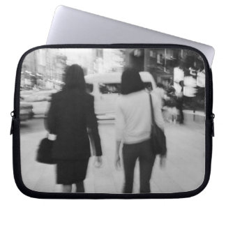 Asia, Japan, Tokyo. Young women on the Ginza. Laptop Sleeve