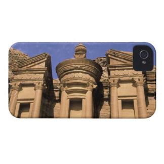Asia, Jordan, Petra. El Deir, the Monastery. 2 iPhone 4 Case-Mate Cases