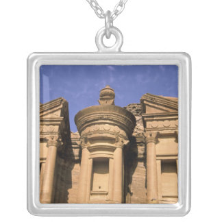 Asia, Jordan, Petra. El Deir, the Monastery. 2 Silver Plated Necklace