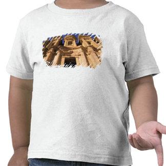 Asia, Jordan, Petra. El Deir, The Monastery. Tshirts