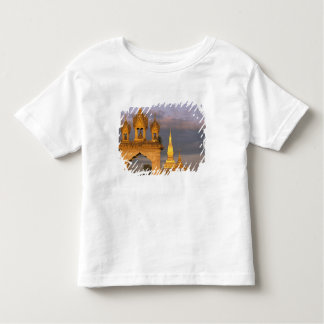Asia, Laos, Vientiane. That Luang Temple. Toddler T-Shirt