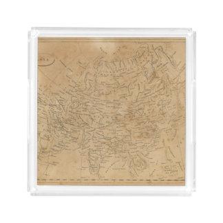 Asia Map 3 Acrylic Tray