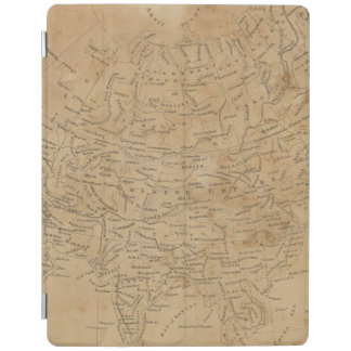 Asia Map 3 iPad Cover