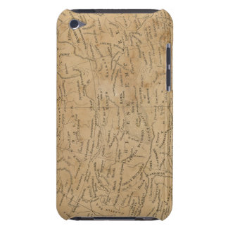 Asia Map 3 iPod Case-Mate Cases