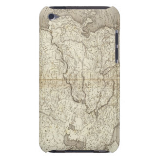 Asia Map Barely There iPod Cover