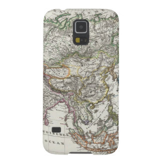 Asia Map by Stieler Galaxy S5 Covers