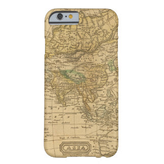 Asia  Map by Worcester Barely There iPhone 6 Case