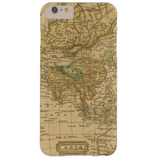 Asia  Map by Worcester Barely There iPhone 6 Plus Case