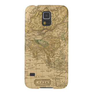 Asia  Map by Worcester Case For Galaxy S5