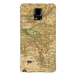 Asia  Map by Worcester Galaxy Note 4 Case