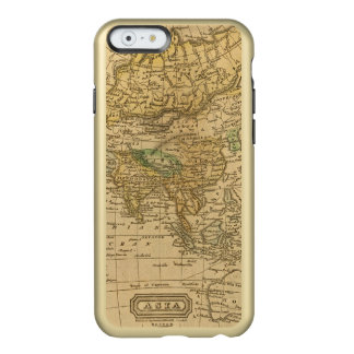 Asia  Map by Worcester Incipio Feather® Shine iPhone 6 Case