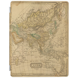 Asia  Map by Worcester iPad Cover