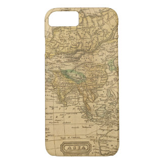 Asia  Map by Worcester iPhone 7 Case