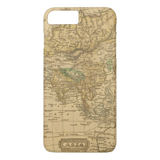 Asia  Map by Worcester iPhone 8 Plus/7 Plus Case