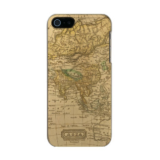 Asia  Map by Worcester Incipio Feather® Shine iPhone 5 Case