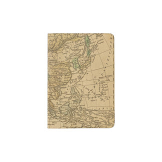 Asia  Map by Worcester Passport Holder