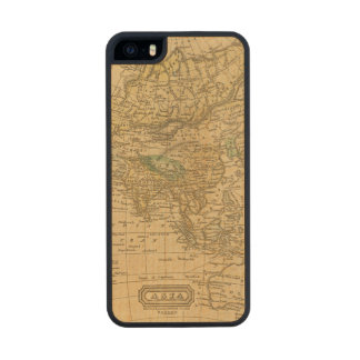 Asia  Map by Worcester Carved® Maple iPhone 5 Case
