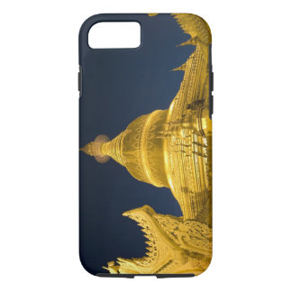 Asia, Maynmar, Yangon, Buddhist temple in Yangon iPhone 8/7 Case