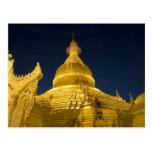 Asia, Maynmar, Yangon, Buddhist temple in Yangon Postcards