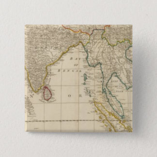 Asia middle 15 cm square badge