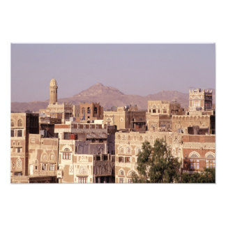 Asia Middle East Republic of Yemen Sana a Photographic Print