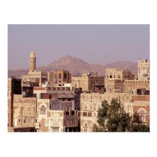Asia, Middle East, Republic of Yemen, Sana'a. Postcard