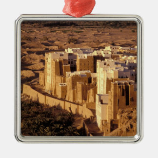 Asia, Middle East, Republic of Yemen, Shibam Christmas Ornament
