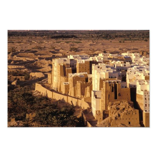 Asia, Middle East, Republic of Yemen, Shibam Photo