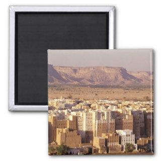 Asia, Middle East, Republic of Yemen. Shibam Square Magnet