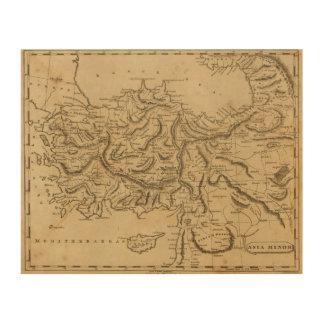 Asia Minor 2 Wood Print