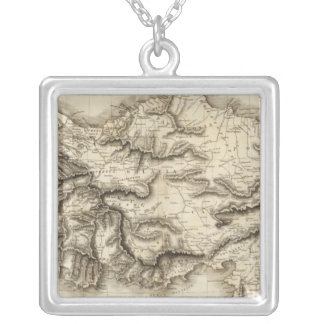 Asia Minor 3 Silver Plated Necklace