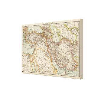 Asia Minor, Persia Canvas Print