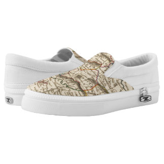 Asia Minor Printed Shoes