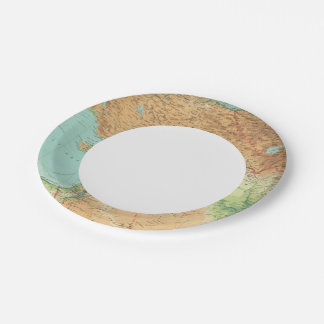 Asia Minor, Syria & Mesopotamia Paper Plate