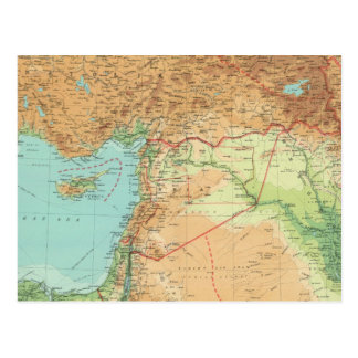 Asia Minor, Syria & Mesopotamia Postcard
