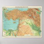 Asia Minor, Syria & Mesopotamia Poster