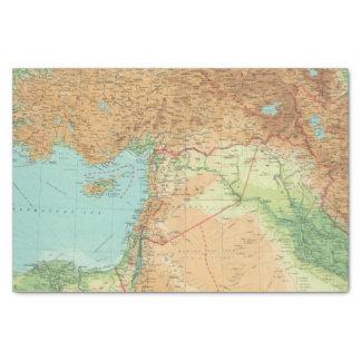 Asia Minor, Syria & Mesopotamia Tissue Paper