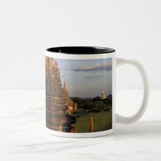 Asia, Myanmar, Bagan. Ancient temples and Mug