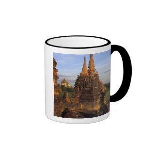 Asia, Myanmar, Bagan. Ancient temples and Coffee Mug