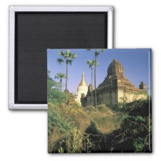 Asia, Myanmar, Bagan. Kubyauk-Gyi Temple. Magnet