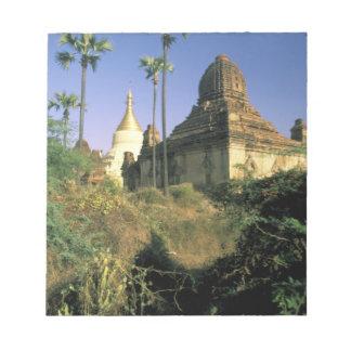 Asia, Myanmar, Bagan. Kubyauk-Gyi Temple. Notepad